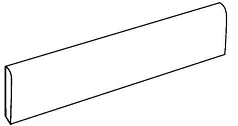 SOCKEL DUO PLATINA MATT RECT. 9,5X60