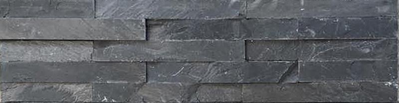 VÄGGSKIFFER RAK BLACK 60x15