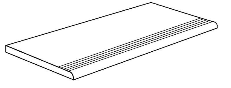 ARC SLATE DARKGREY STEGPLATTA 30X60