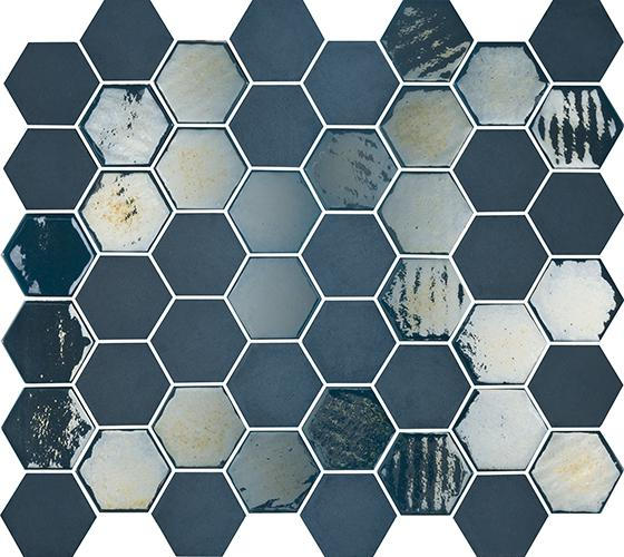 MOSAIK SIXTIES HEXA BLUE 5x4,3
