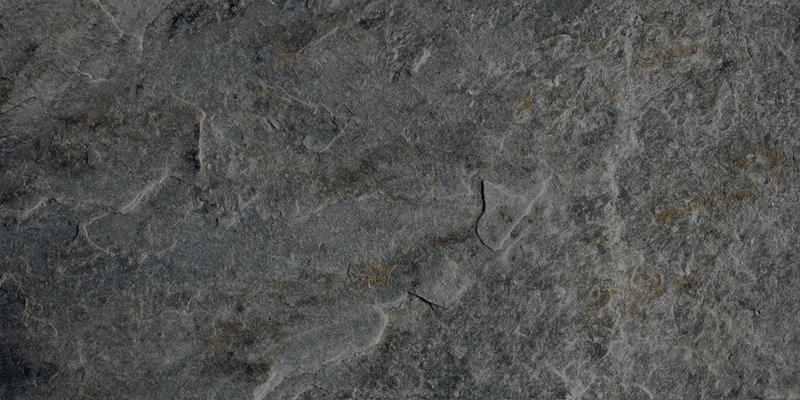 ROCKS SILVER BLACK RECT. 30x60