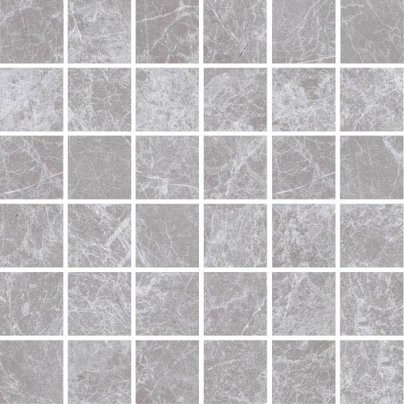 MOSAIK NATURAL MARBL GREY MATT 4,8x4,8