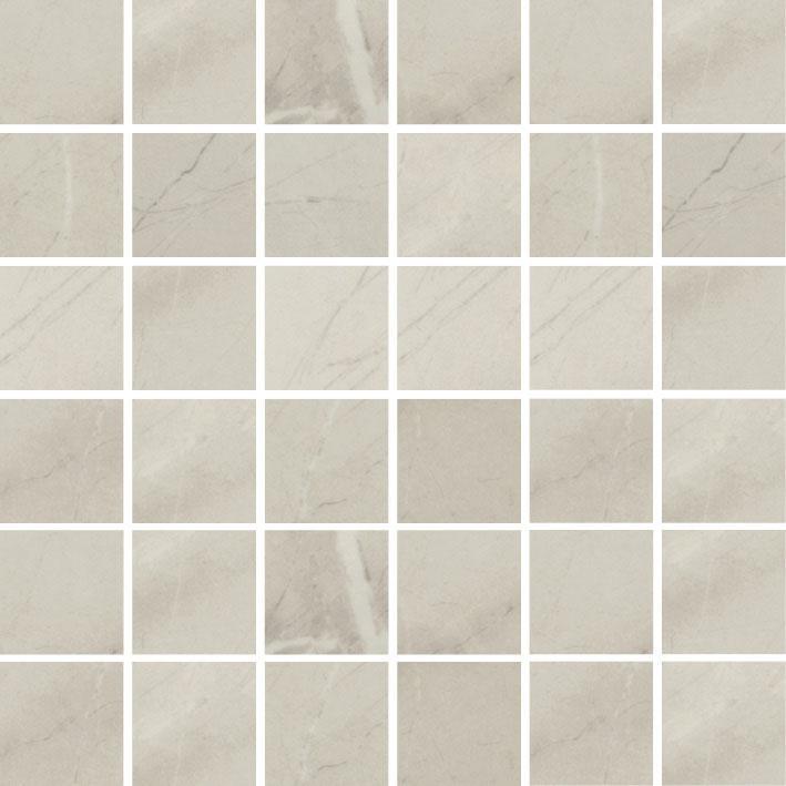 MOSAIK MARBLES LIGHT GREY POL. 4,8x4,8