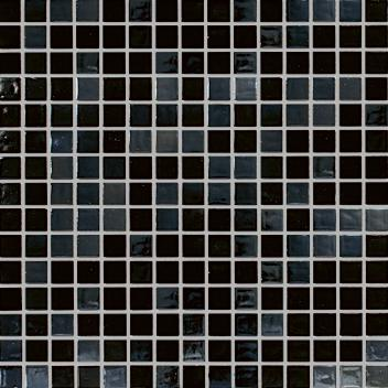 MOSAIK METAL BLACK 2x2