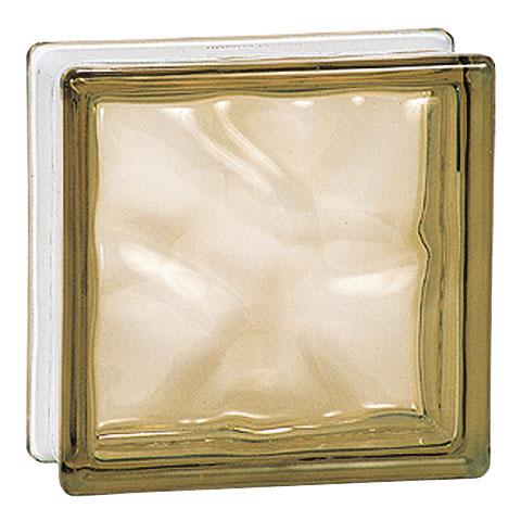 GLASBLOCK BRONS 19x19