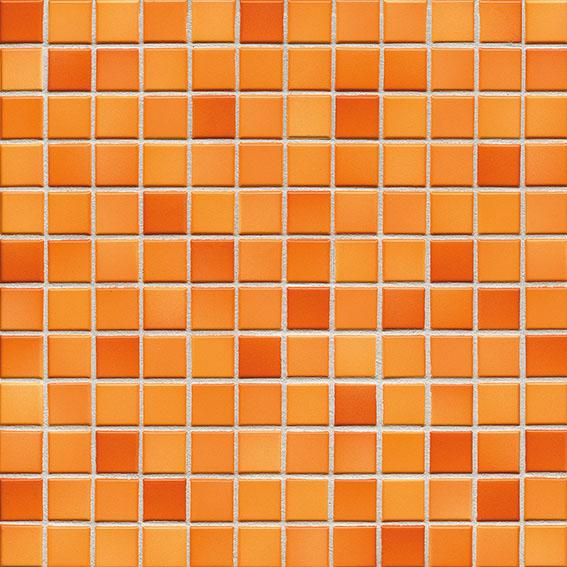 MOSAIK FRESH SUNSET ORANGE MIX 2,4x2,4