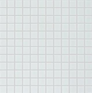 MOSAIK GLAS MATT 99 VIT 23X23X4