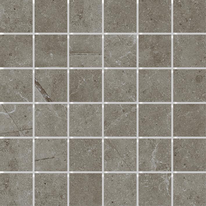 MOSAIK LIMESTONE GREY MATT 4,8x4,8