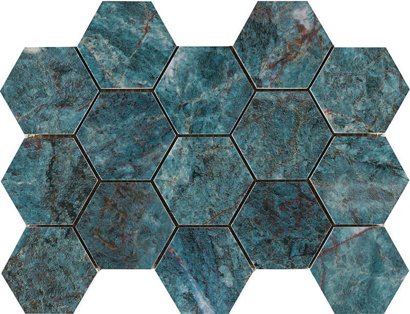 DELUXE HEXA GREEN POLERAD 7x8,2