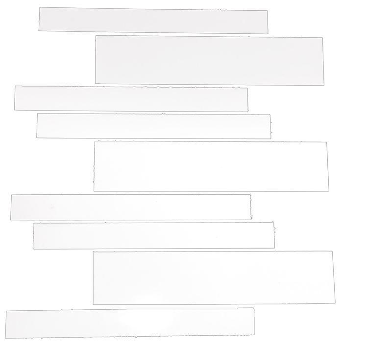 STAVMOSAIK WHITE BRIGHT 31X32,5
