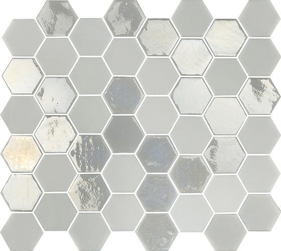 MOSAIK SIXTIES HEXA WHITE 5x4,3