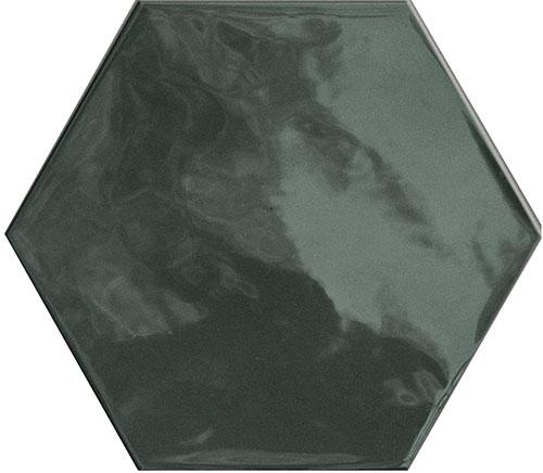 HEXA WALL GREEN ECHO GLOSSY 17,3x15