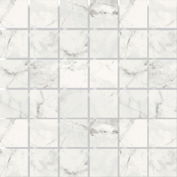 MOSAIK LUNI BLANCO MATT 4,8x4,8