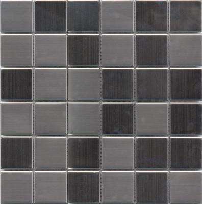 MOSAIK ROSTFRI 4,8x4,8