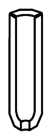 SOLID INNERHÖRN DARK MIX 9,7x19,7