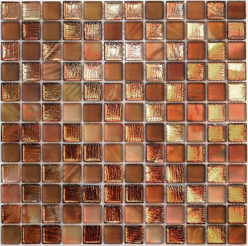 MOSAIK GLAS COPPER 2,3x2,3