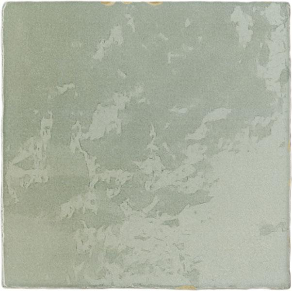 ZEL GREEN RUSTIC GLOSS 13,2X13,2
