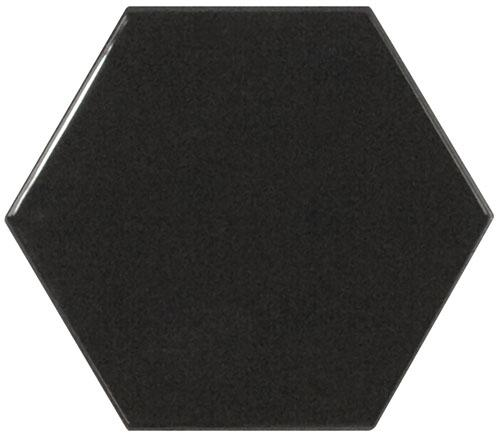 SCALE HEXAGON BLACK 12,4x10,7