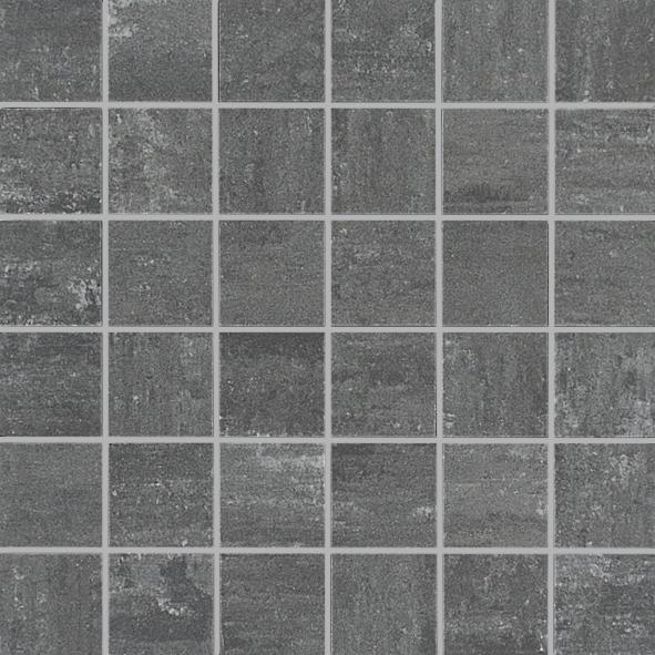 MOSAIK DUO MÖRK PRETA MATT 4,8x4,8