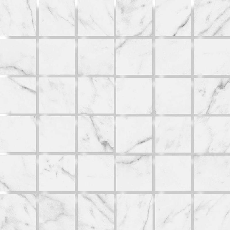 MOSAIK MARBLE VENETO WHITE POL. 4,8x4,8