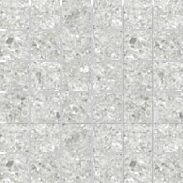 MOSAIK PEARL GREY POLERAD 4,7x4,7