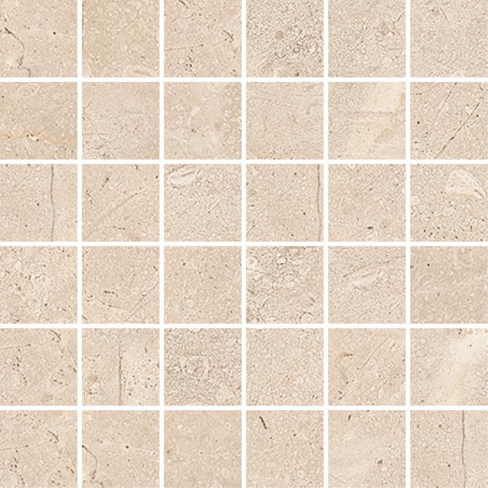 MOSAIK LORD STONE MARFIL MATT 4,8x4,8