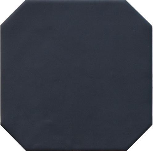 OCTAGON BLACK MATT 20x20