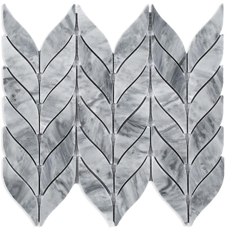 MOSAIK MARBLES LEAF GREY 2,5x10,5