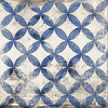 MAIOLICHE BLUE 3, 20x20