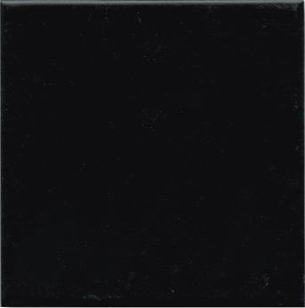 BLACK MATT 14.7X14.7