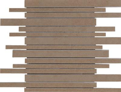 MOSAIK STRIPE BROWN 30 X 37,5