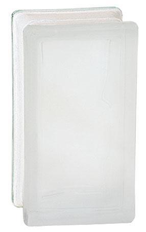 GLASBLOCK FROSTAD 9X19X8 HALV