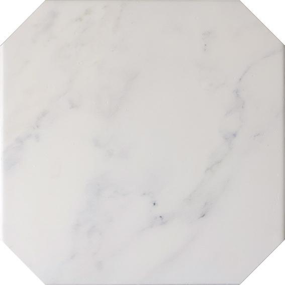 OCTAGON MARBLE BLANCO MATT 20x20