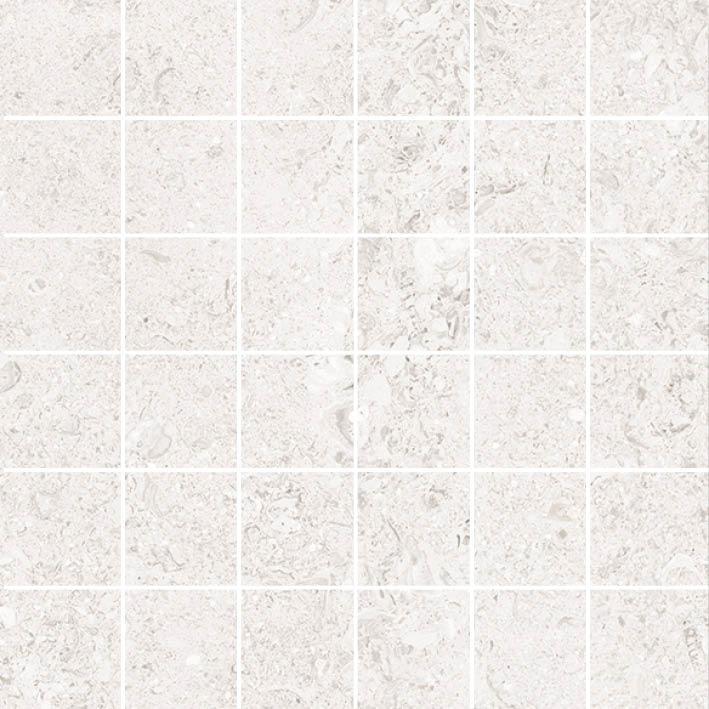 MOSAIK SHELL WHITE 4,8x4,8