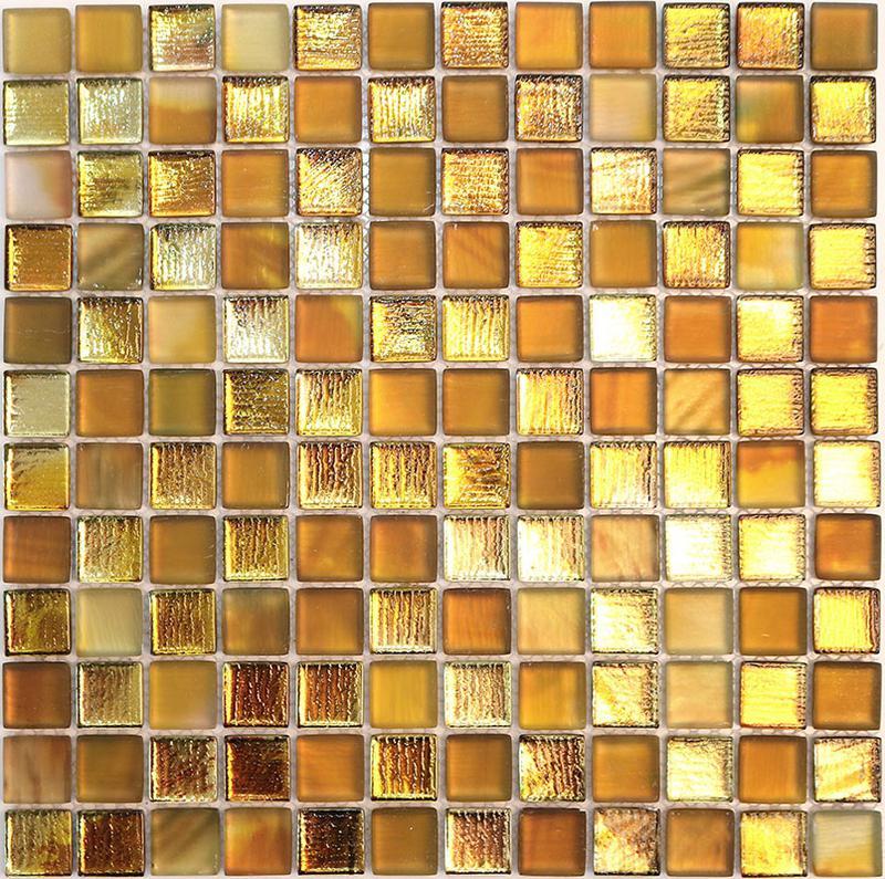 MOSAIK GLAS GOLD 2,3x2,3
