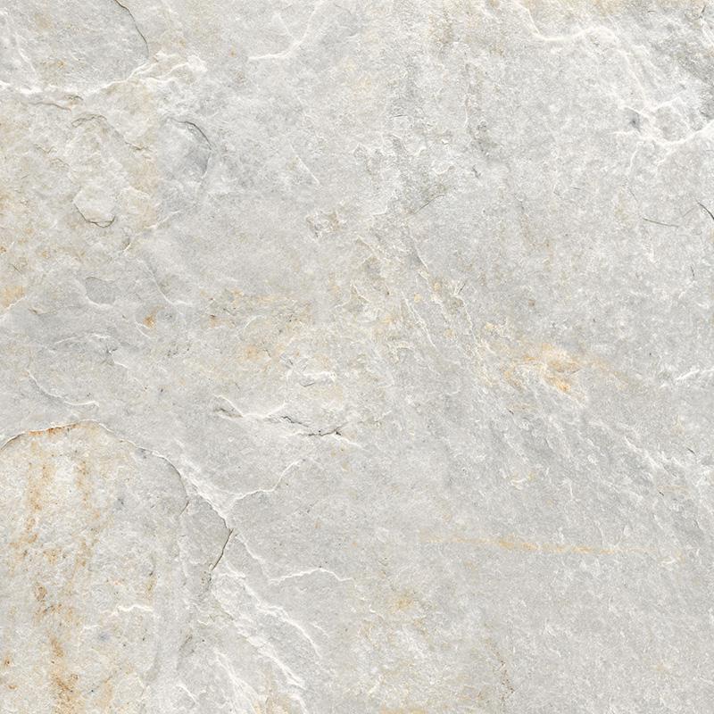 ROCKS SILVER WHITE RECT. 30x30