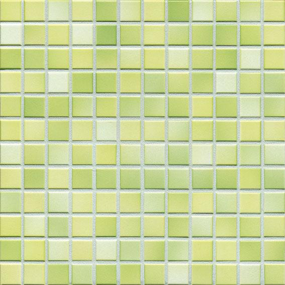 MOSAIK FRESH LIME GREEN MIX 2,4x2,4