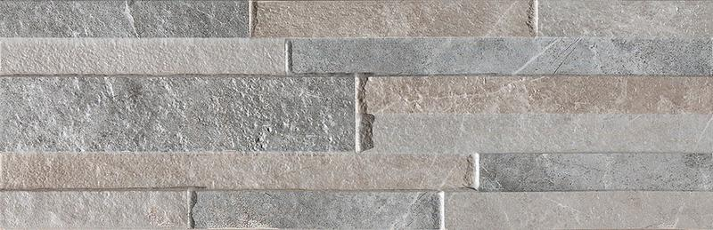 BLOCK STONE GREY MIX RECT 16,3x51,7