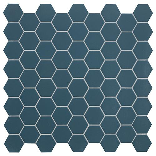 MOSAIK HEXA BLUE WAVE MATT 4,3x3,8