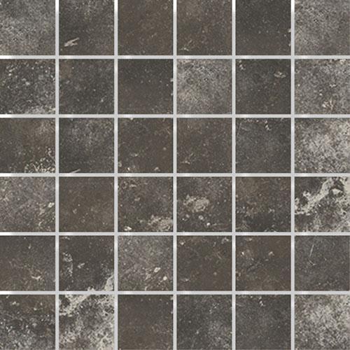 MOSAIK MAIOLICHE BLACK 4,7x4,7