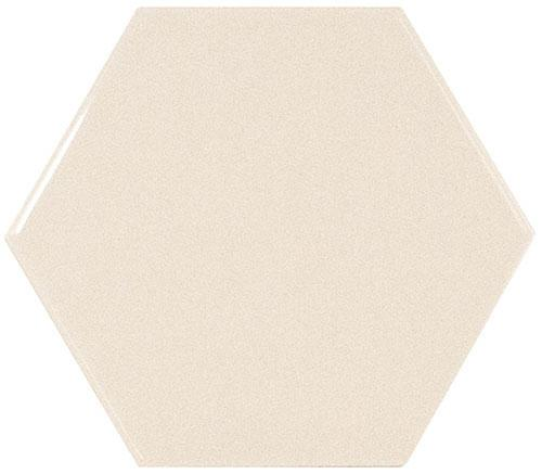 SCALE HEXAGON IVORY 12,4x10,7
