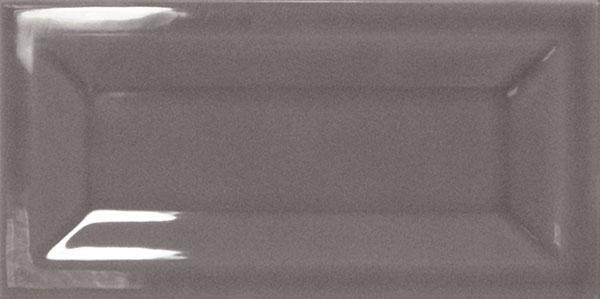 INMETRO DARK GREY GLOSSY 7,5X15