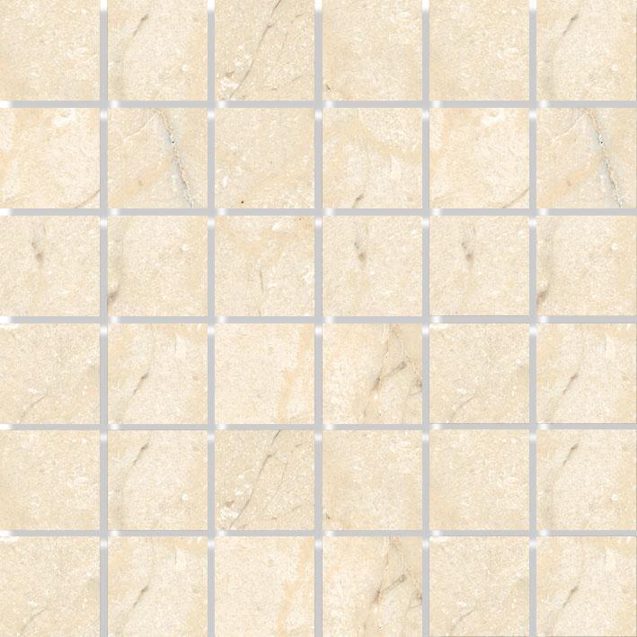 MOSAIK MARBLES CREAM POLERAD 4,8x4,8