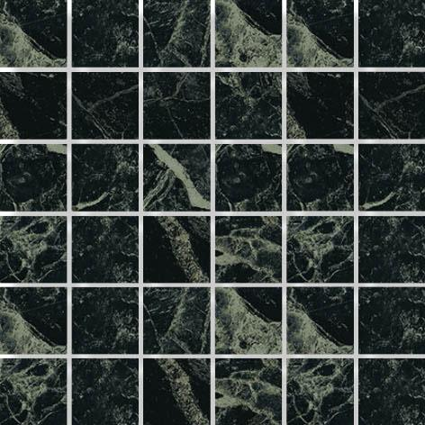 MOSAIK MARBLE DARK GREEN POL. 4,7x4,7