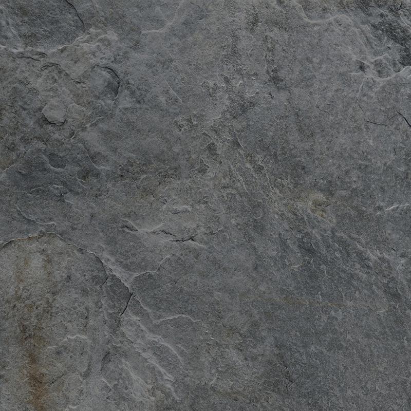 ROCKS SILVER BLACK RECT. 60x60