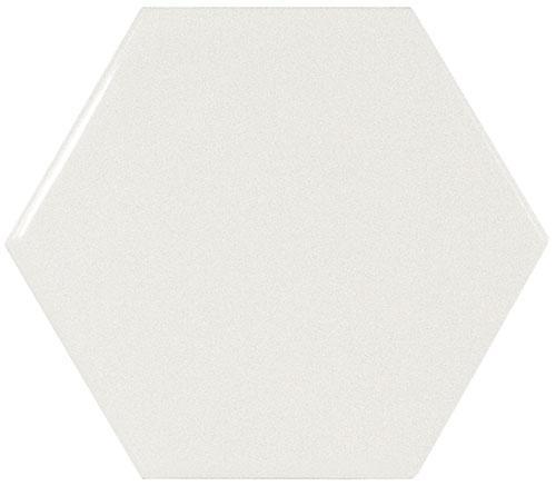 SCALE HEXAGON WHITE 12,4x10,7