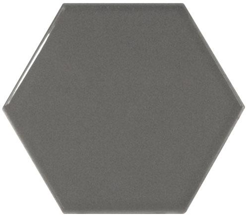 SCALE HEXAGON DARK GREY 12,4x10,7