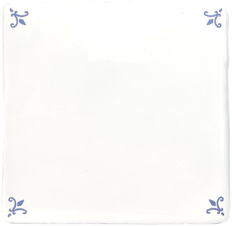 ANTIC FLEUR DE LIS 10x10