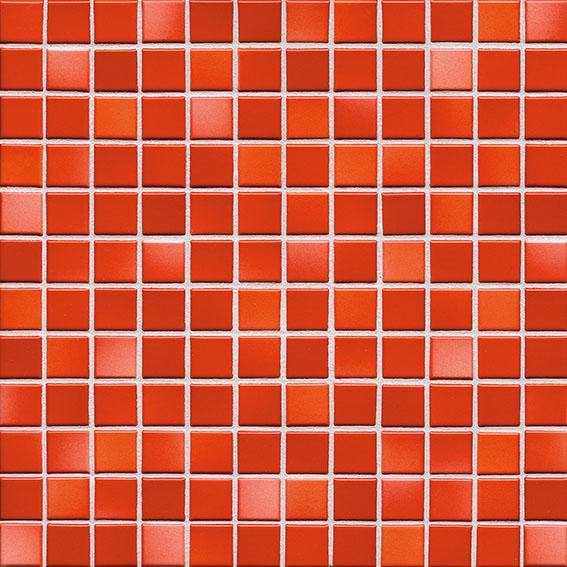 MOSAIK FRESH CORAL RED MIX 2,4x2,4