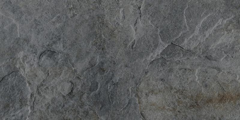 ROCKS SILVER BLACK RECT. 60x120